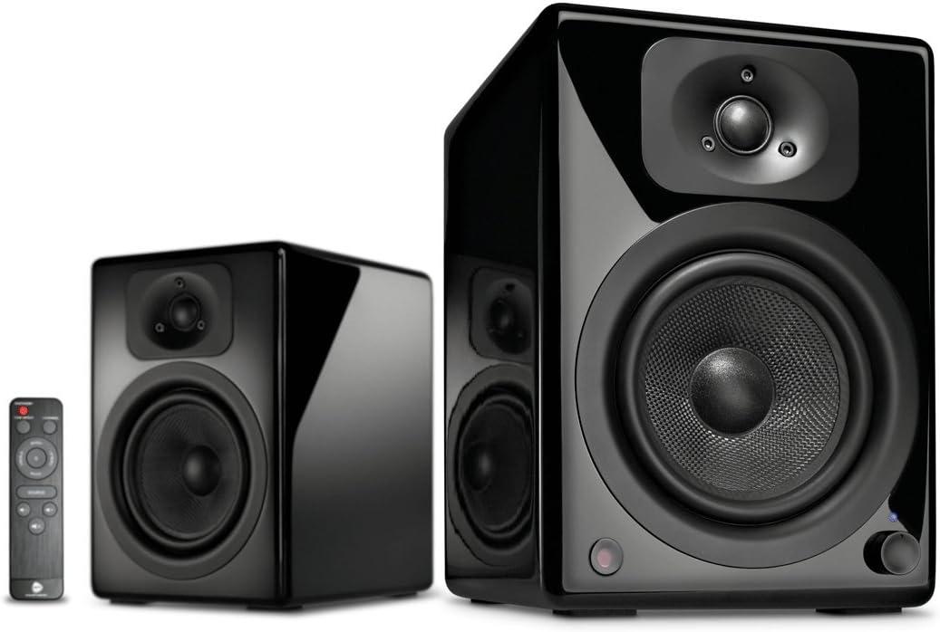 Wavemaster Two Neo - Altavoces de estantería 2.0 (60 W) con Bluetooth, color negro