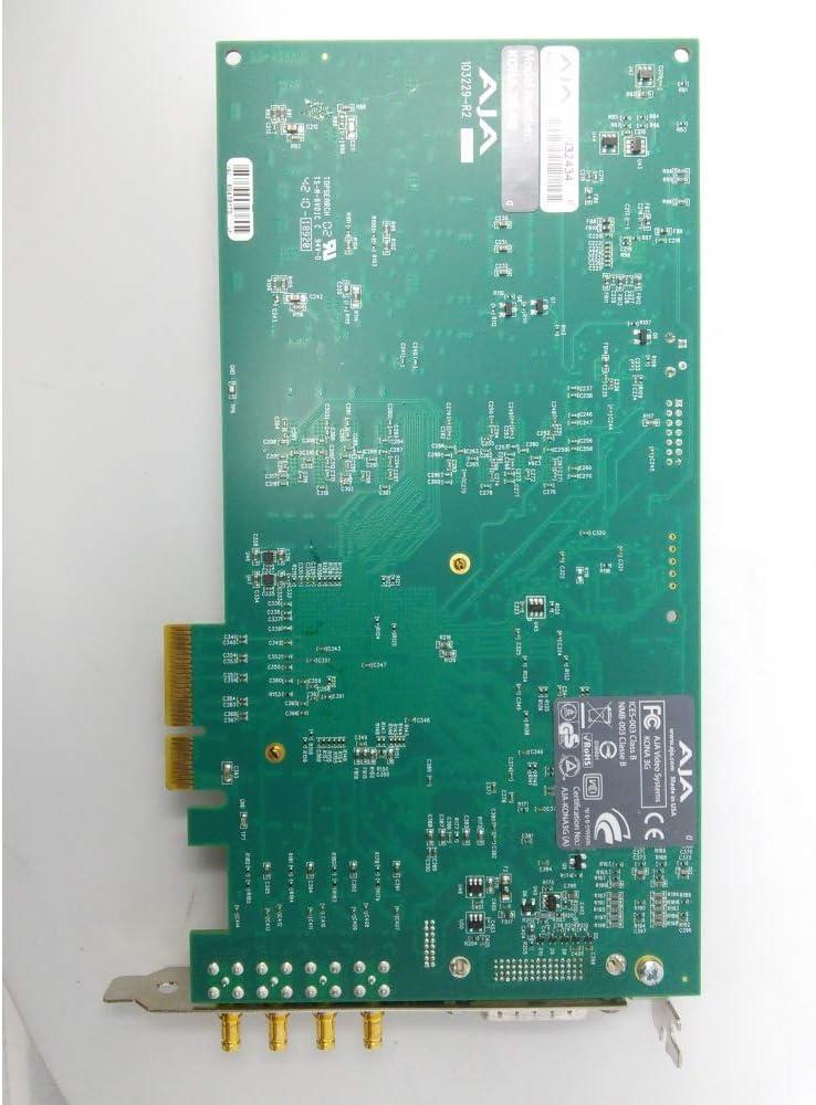 Amazon.com: Aja KONA 3G 2K/3G/Dual Link HD/HD/SD 10-Bit PCIE ...