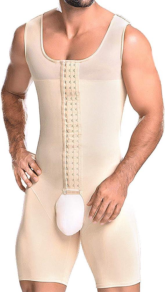 Details about  /Men/'s Shaper Underwear Seamless Abdomen Slim Control Shirt Classic  Body Shaper