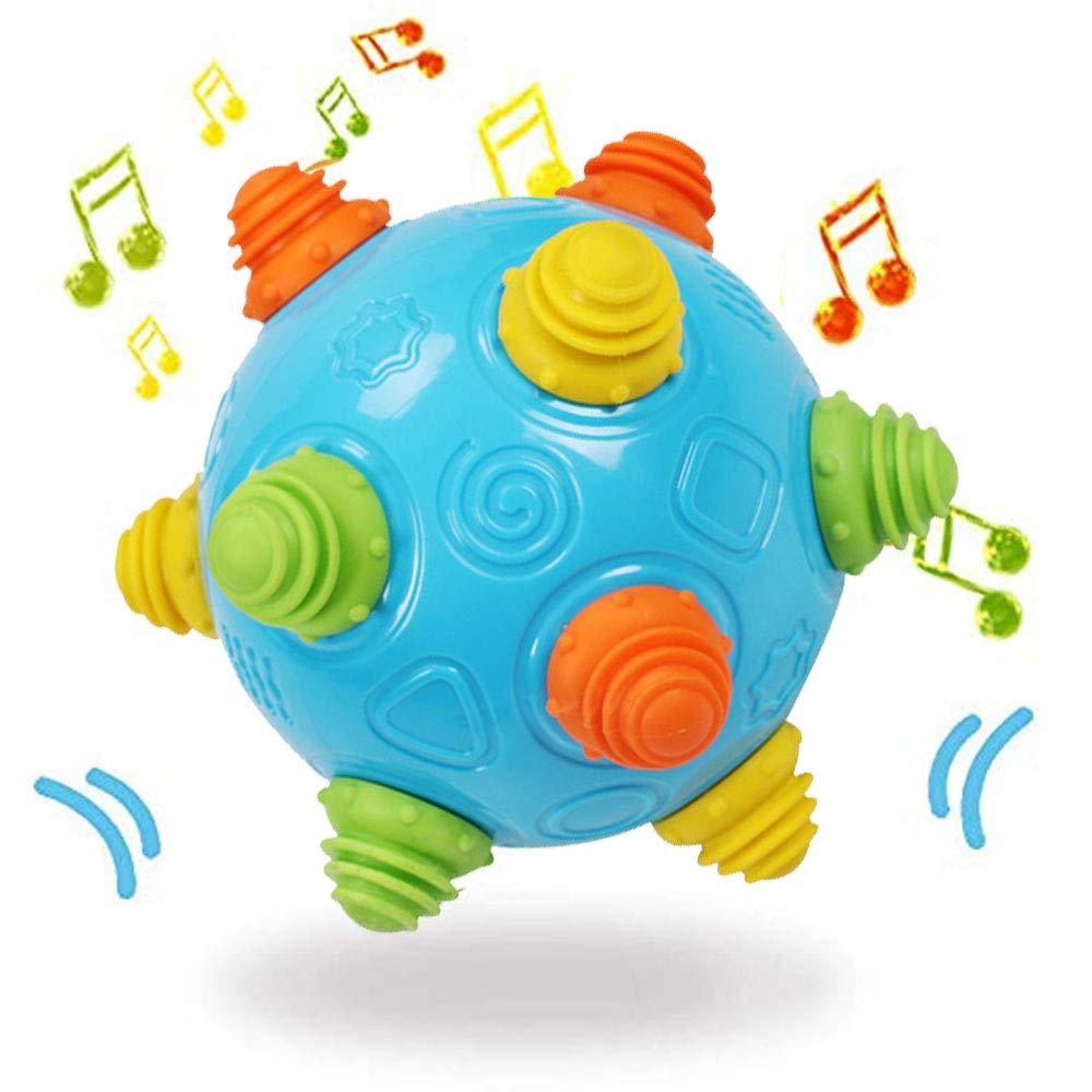 Toy Baby センサリーおもちゃ 音楽シェイク ダンスボール 幼児用 赤ちゃん用感覚ボール one size グリーン 3769   B07RJ38NBH