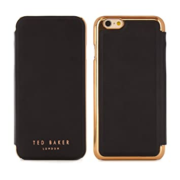 hot sale online 3d942 a99ab Ted Baker® 2016 Collection iPhone 6S / 6 Case, Official iPhone 6S Leather  Wallet Cover with Rose Gold Finish, Professional Women's iPhone 6S Cover ...