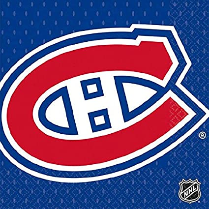 Montreal Canadiens Collection Beverage Napkins Amscan Toys 503805
