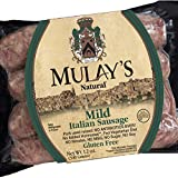 Mulay's Mild Italian Sausage Links 12 oz. (Pack of 6)