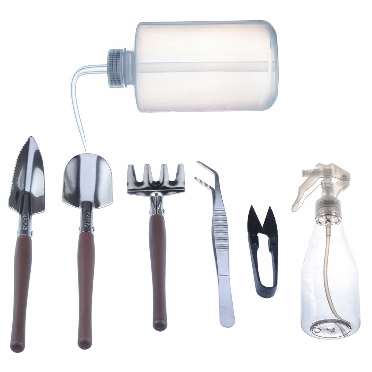 Mkono succulent tools 7pcs mini garden hand fairy for Gardening tools description