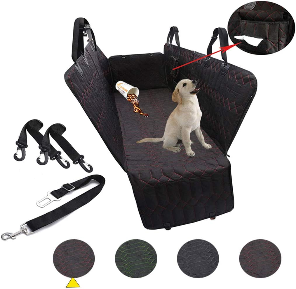 RBSC Home Car Back Seat Cover Protector Waterproof Hammock, Heavy Duty and Nonslip Car Seat Cover for Cars, Trucks, Jeeps and SUVs