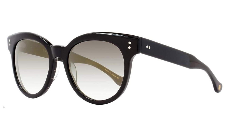 Dita Oval Sunglasses 22028 Sunspot A-BLK-GLD Black 22028