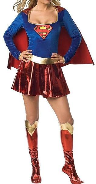 Aimerfeel tamaño del traje del traje de Superwoman 34-36,38-40, 42-44