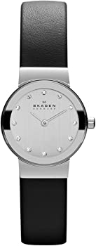 Skagen Women&#39s Ancher Stainless Steel Mesh Dress Quartz Watch