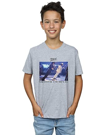 0dc25ec18ca7 Amazon.com: Michael Jackson Boys Smooth Criminal Lean T-Shirt: Clothing