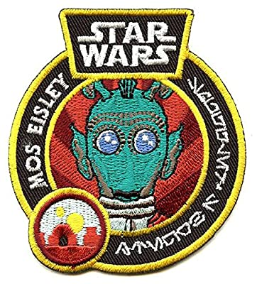 Funko Star Wars The Force Awakens Mos Eisley Greedo Exclusive Patch