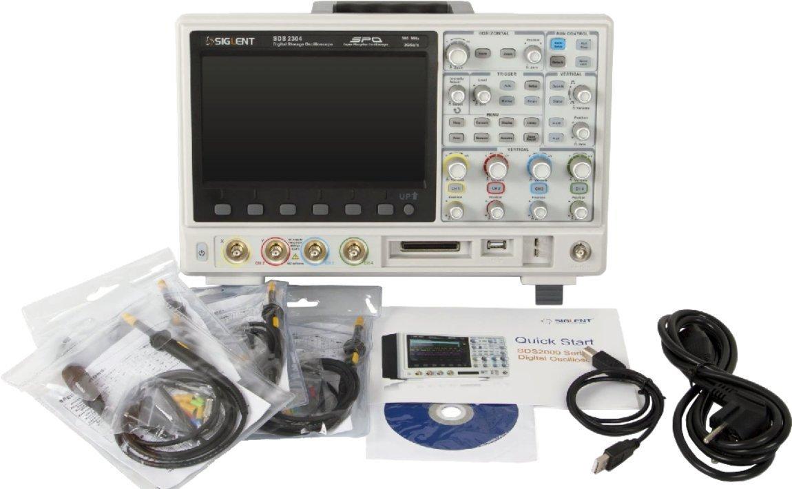 SIGLENT SDS2304X Super Phosphor Oscilloscope 4-channel 300 MHz Digital Desktop SPO