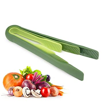 ComKit Mini pinzas de alimentos, pan de plástico abrazadera de pinzas de cocina de barbacoa