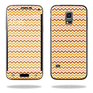 Mightyskins Protective Vinyl Skin Decal Cover for Samsung Galaxy S5 Mini Cover wrap sticker skins Harvest Chevron