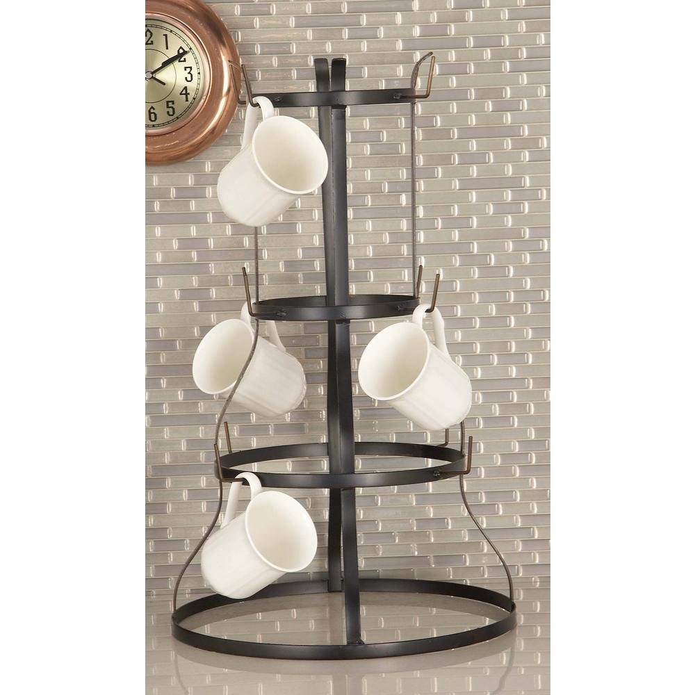 Mug Rack made of Industrial Iron Set of 2 by AMERICAN HOME