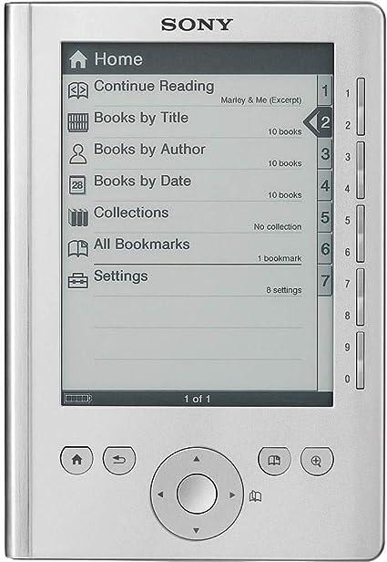 Sony Lector de Bolsillo Edition Plata PRS-300SC: Amazon.es ...