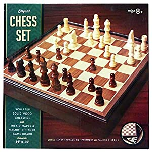 Deluxe Wooden Chess Set by Beauty Land Enterprises Co.