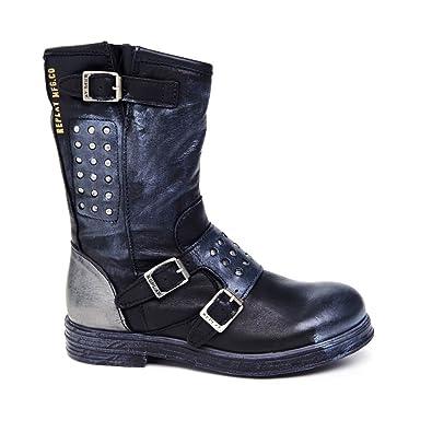 REPLAY, Damen Stiefel & Stiefeletten *, schwarz schwarz