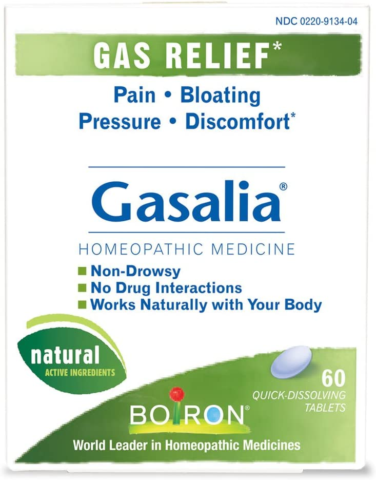 Gasalia Homeopathic Medicine for Gas Relief (60 Tablets): Health & Personal Care