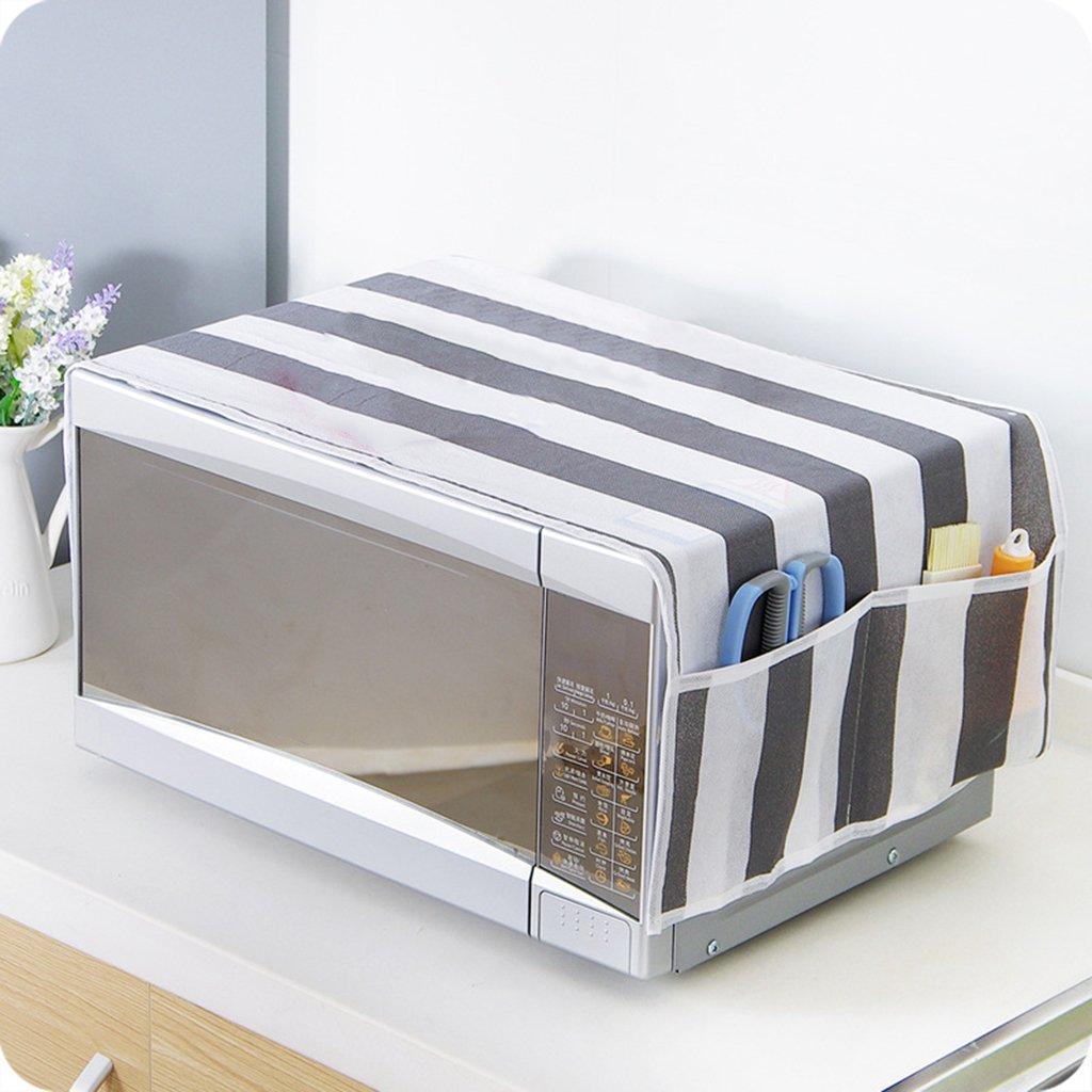 dise/ño de estrella Funda antipolvo para microondas de 85 x 34 cm impermeable con bolsillo para accesorios de cocina 84 * 34cm 03