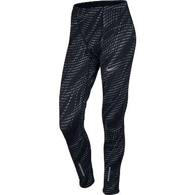 NIKE Men's Dri-Fit Running Compression Pants 800650-010 011 (S, Black