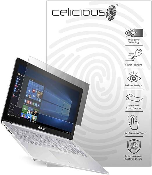2er Pack Celicious Matte Entspiegelte Bildschirmschutzfolie kompatibel mit dem Asus ZenBook Pro 14 UX480FD