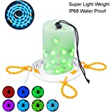 Dust2Oasis LED Rope Lights for Camping, Hiking, Safety, Emergencies Portable LED String Light 2 in 1 LED Lantern 5 Feet