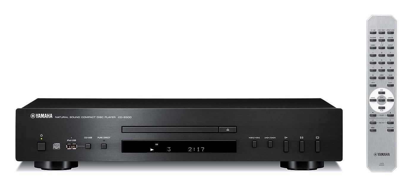 Yamaha CD-S300BL Natural Sound CD Player by Yamaha Audio