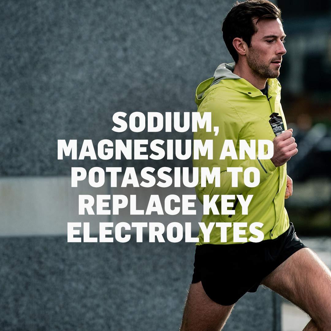 Science in Sport Energy Gel Pack, SIS Energy Gel + Electrolyte, 22g Fast Acting Carbs, Performance & Endurance Gels, Raspberry Flavor - 2 Oz. (30 Pack) by Science in Sport (Image #3)