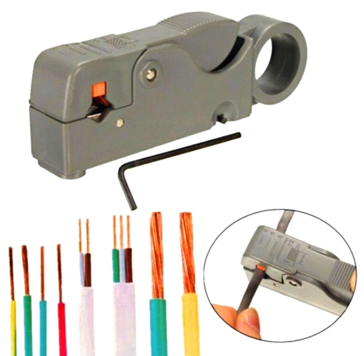 Pince /à d/énuder automatique Outil de coupe et de sertissage de c/âble r/éseau /à r/églage automatique par GEZICHTA