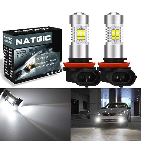 Bombillas LED para coche x 2 piezas de NGCAT H11 H8 H9 DRL, reemplazo de