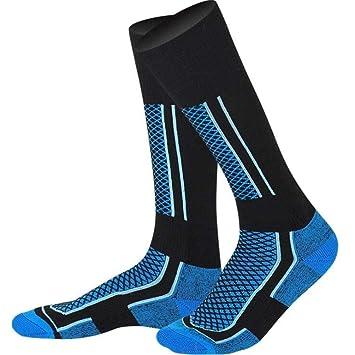 CfMWz Calcetines de esquí Baloncesto calcetín Espesar Impreso ...