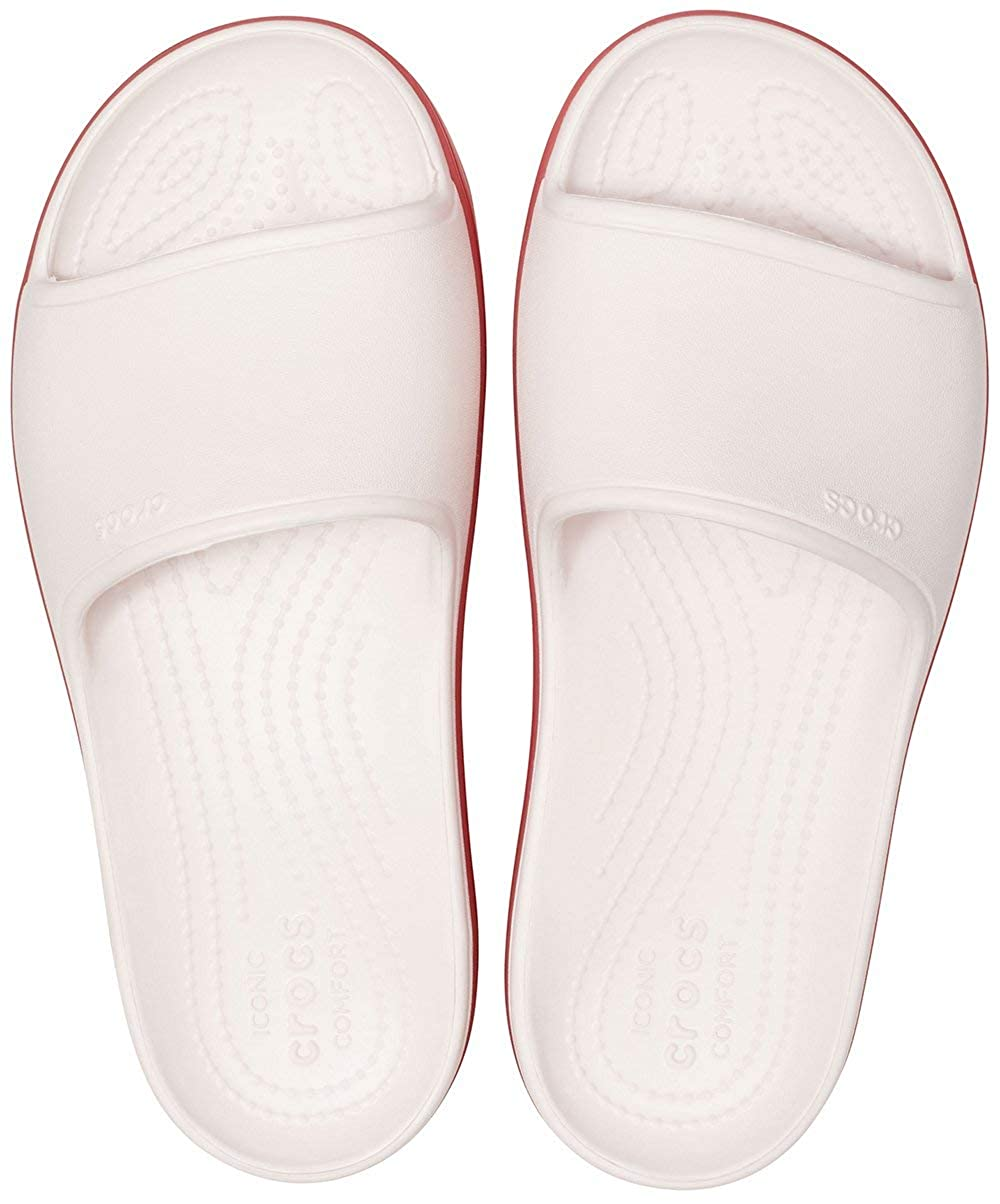 Crocs Womens Crocband Platform Slide Sandal
