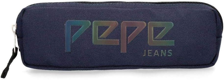 Trousse 3 compartiments Pepe Jeans Osset Bleu