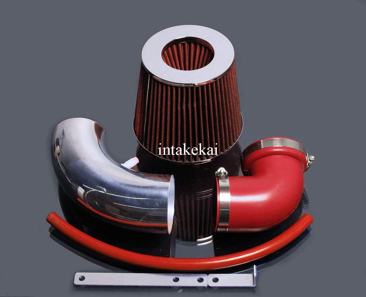 PERFORMANCE SHORT RAM AIR INTAKE KIT FOR 2006-2008 HONDA FIT JAZZ 1.5 1.5L SOHC ENGINE (RED) INTAKE KAI