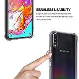 Ferilinso Case for Samsung Galaxy A70,Ultra [Slim