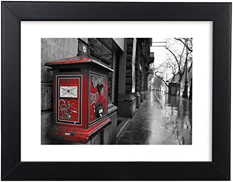 """A4 8x12/"""" Wall Hanging Photo Frame Poster Display Tabletop Picture Frames"""