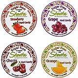 Stevita Stevia Sugar Free Hard Candy - Strawberry, Grape, Cherry, Orange