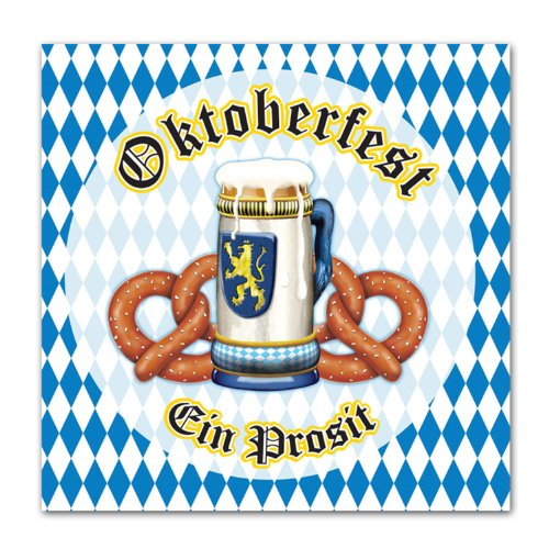 Oktoberfest Party Decorations (Beistle Oktoberfest Luncheon Napkin)