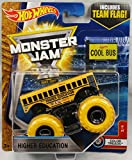 2017 Hot Wheels Monster Jam 1:64 Scale Truck with Team Flag - Higher Education