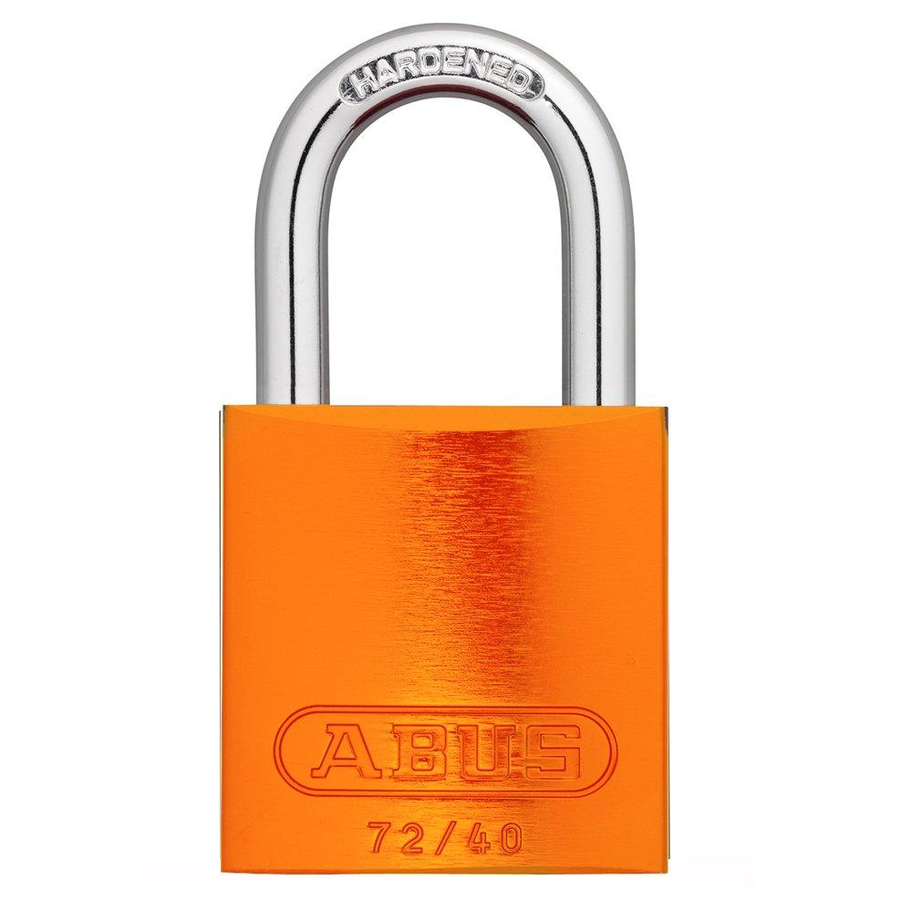 UltraSource Aluminum Safety Padlock Orange