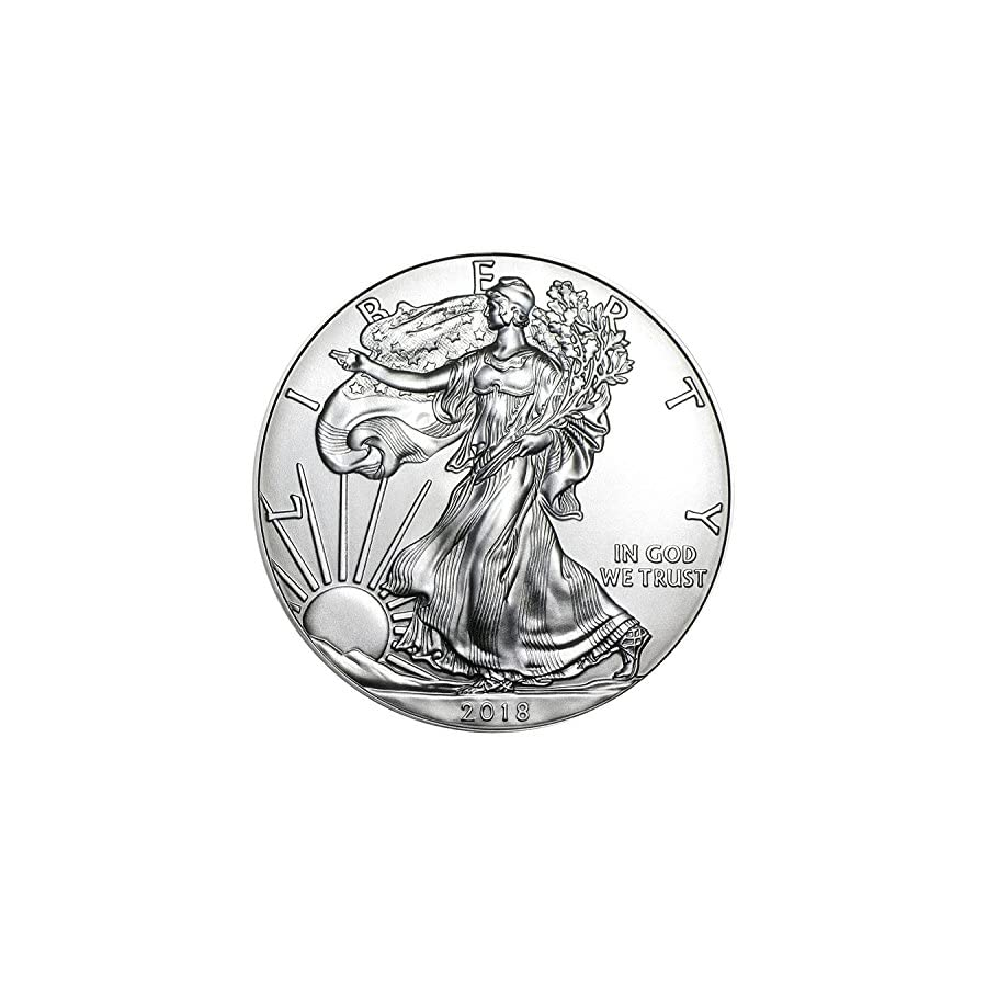 2018 American Silver Eagle BU $1 Brilliant Uncirculated