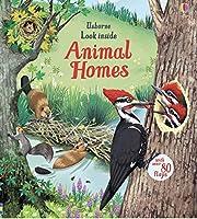 Usborne Look Inside Animal Homes de Emily…