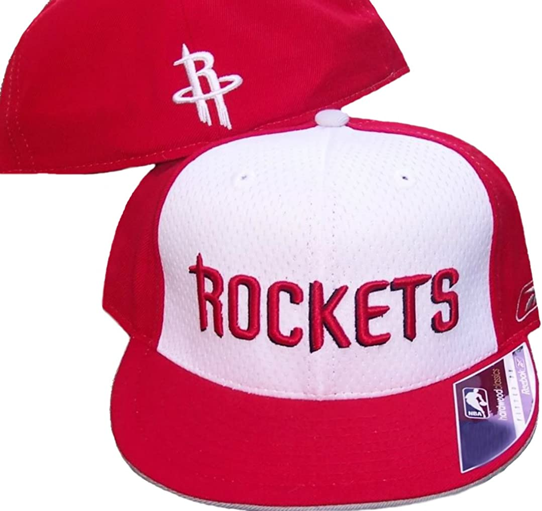 One-Size New Era Houston Rockets 9fifty Stretch Snapback Cap NBA Essential Red