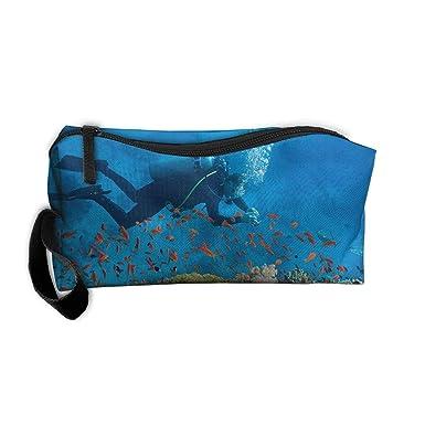 Amazon.com: Bolsas de cosméticos con cremallera, bolsa de ...
