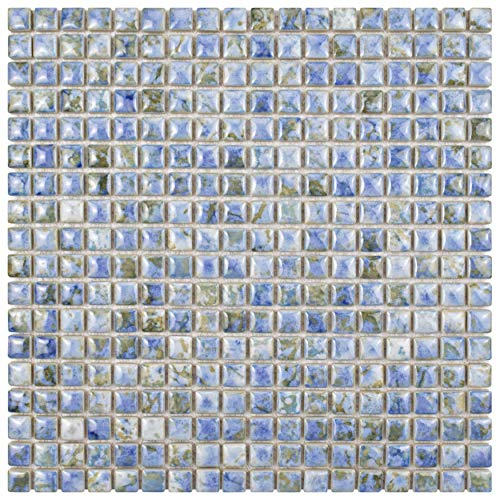 SomerTile FCP96RNP Arcadia Porcelain Floor and Wall Tile, 12