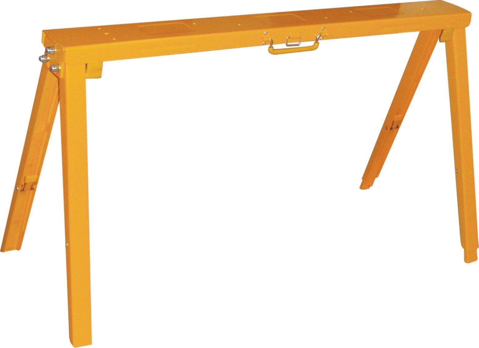 YourTools Y2SH Adjustable FoldingHeavy Duty Sawhorse Work Stand, 1,200 lb Capacity