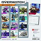 Overwatch 2018 12 x 12 Inch Monthly Square Wall Calendar, Video Game Multiplayer Shooter Blizzard Entertainment (Multilingual Edition)