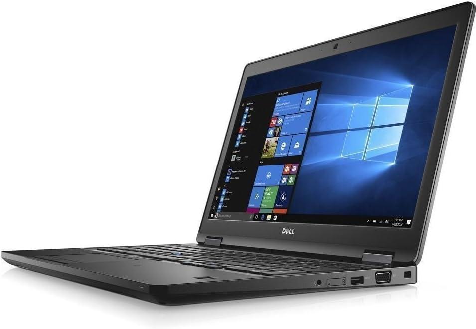 Dell latitude 15 5580 FHD IPS 1080p Quad-Core i7-7820HQ 16GB DDR4 512GB SSD Webcam Windows 10 Pro (Renewed)