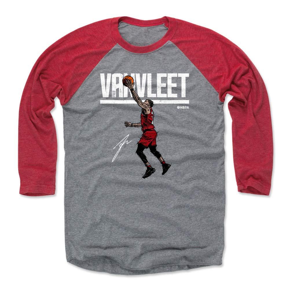 Toronto Basketball Raglan Shirt 500 LEVEL Fred VanVleet Baseball Tee Shirt Fred VanVleet Hyper