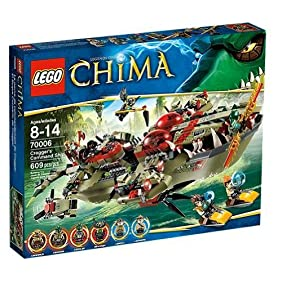 LEGO Chima Cragger Command Ship 70006